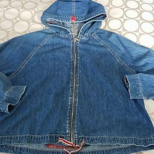 AG Denim Hoodie Jacket